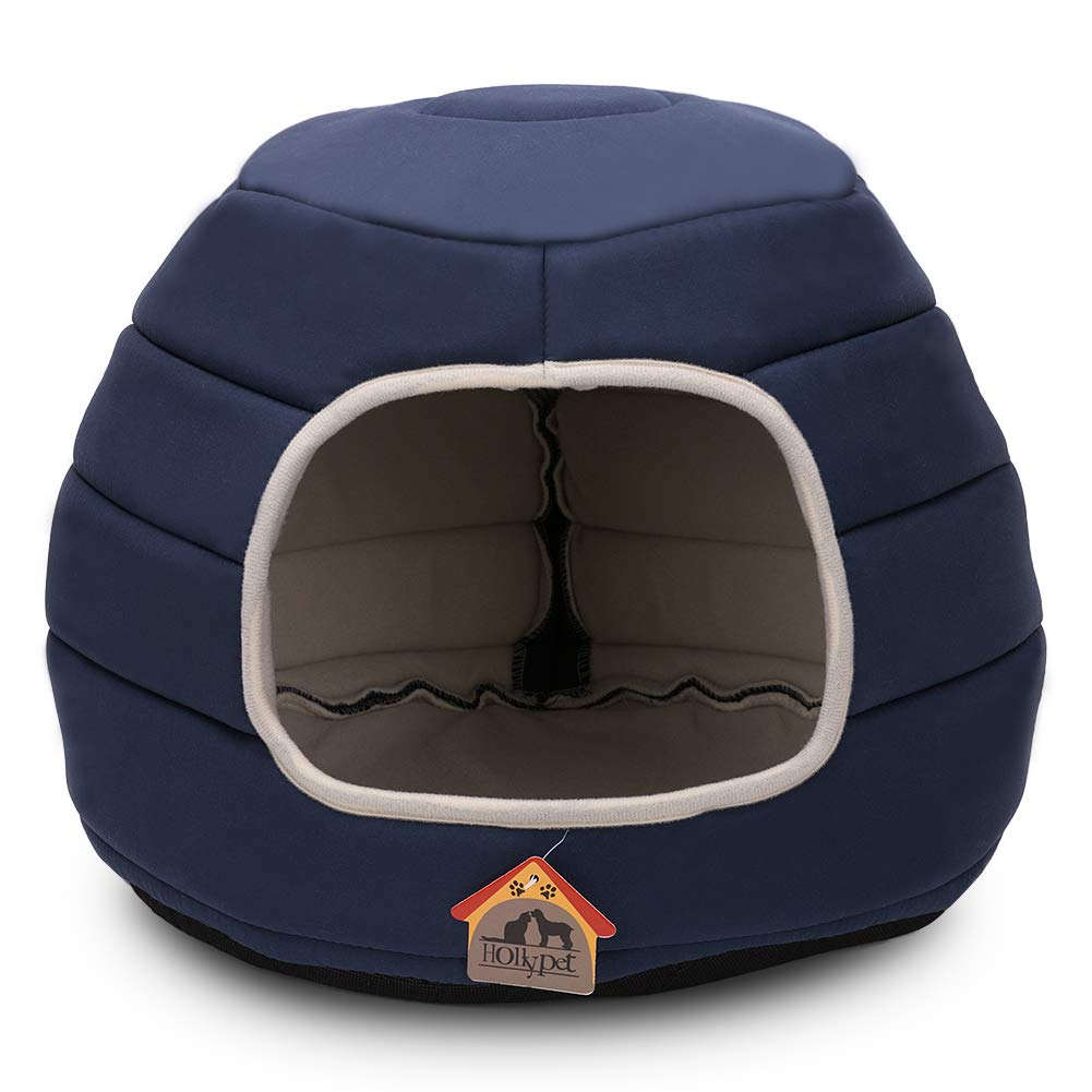Hollypet Coral Self-Warming Foldable Cave for Small Pets