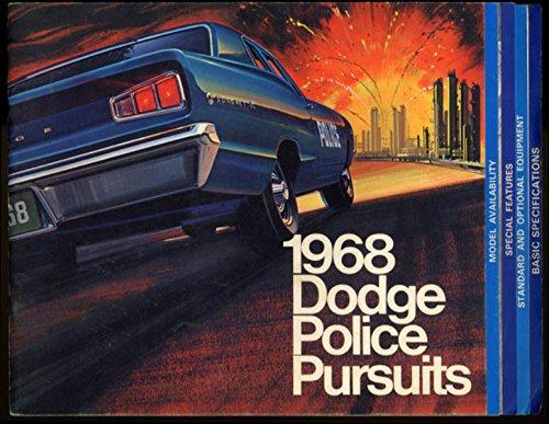 1968 Dodge Police Pursuits sales brochure Polara Coronet & Wagon