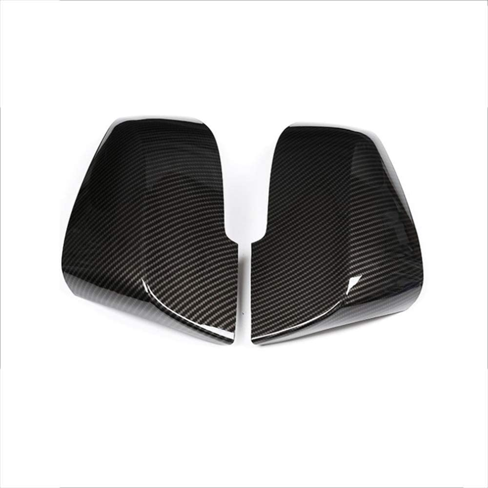 JNXZHDCJ NEW Carbon fiber texture ABS Rear View Gloss Black Caps Wing Mirror Left//Right Cover for BMW 1 2 3 4 SERIES F20 F30 F31 F32 F34 F36