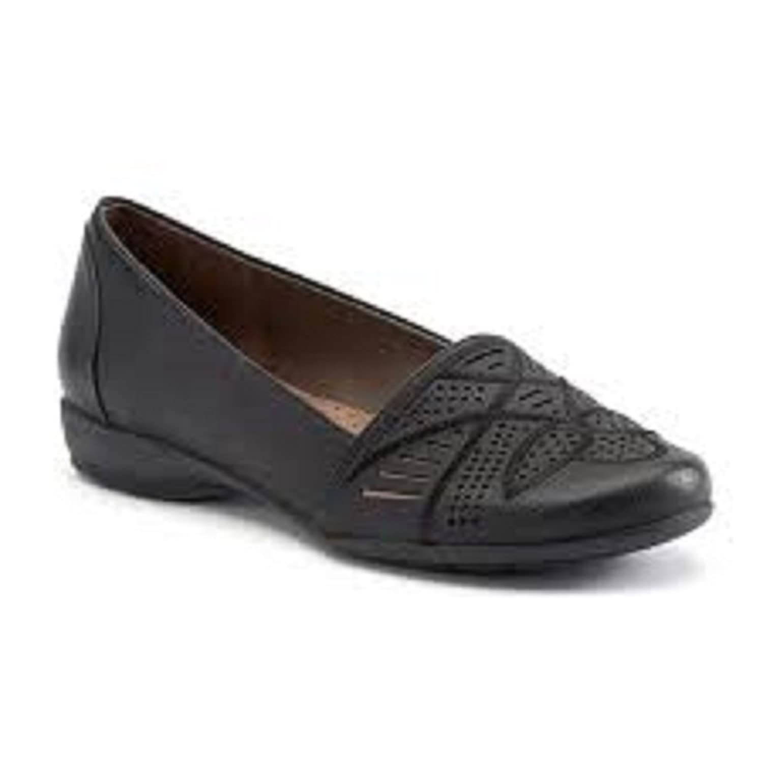NaturalSoul by naturalizer Greenwich Women's Cutout Loafers size 9.5