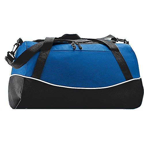 Augusta Activewear Tri-Color Sport Bag, Royal/Black/White, One Size (Bag Color Tri Sport)
