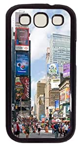New York City Custom Case Cover for Samsung Galaxy S3 / SIII / I9300 - Polycarbonate - Black