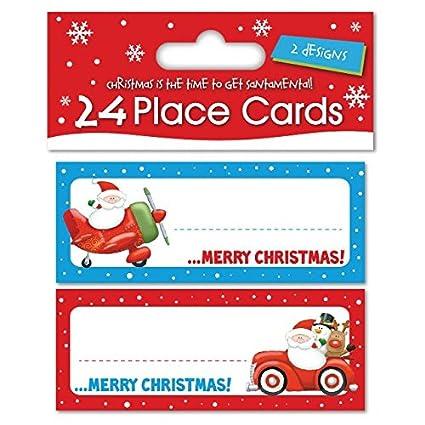 24 x Tarjetas de Navidad para marcar lugar y nombre 2 ...