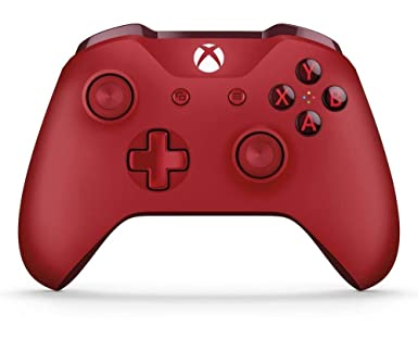 Microsoft Official Xbox Wireless Red Controller: Amazon co uk: PC