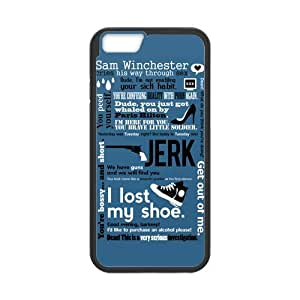 iPhone 6 Protective Case - Supernatural Quotes Hardshell Cell Phone Cover Case for New iPhone 6