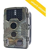 Trail Camera For Deer Hunting With 65ft Night Vision, 0.2S Toggle and 2.31 LCD Screen to Replay