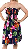 Halter Neck Short Tube Dress Skirt Maxi Cover up Beachwear Swimsuit Swimwear