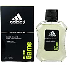 adidas Pure Game Eau De Toilette Spray 3.4 oz