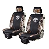 Chris Kyle Tactical Low Back Seat Cover, Premium Fit, Kryptek Banshee Camo, Includes 2 Camo Seat Covers