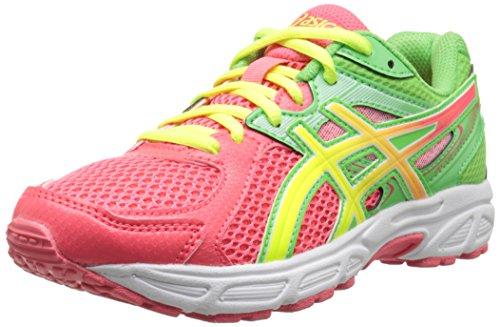 ASICS GEL Contend 2 GS Running Shoe ,Diva Pink/Flash Yellow/