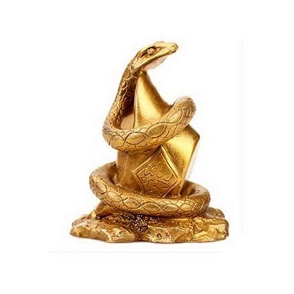 Amazon com: Snake Lucky Feng Shui Chinese Zodiac Animals Statues