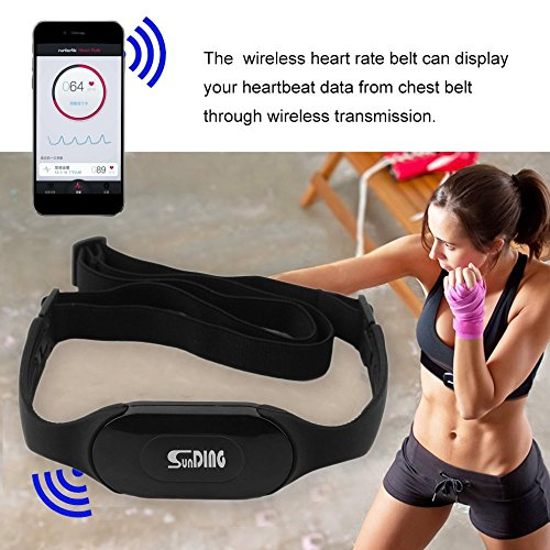 Wireless Bluetooth 4.0 Heart Rate Monitor Cardio Sport Meter