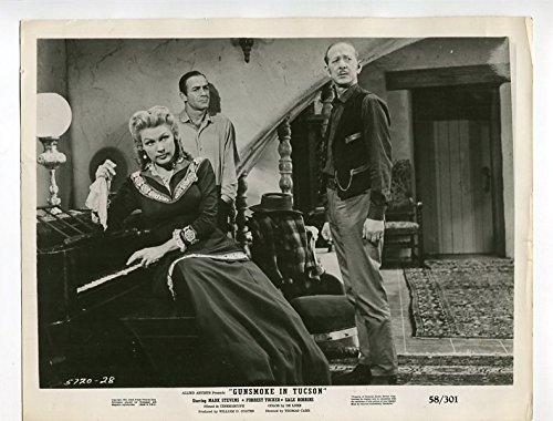 Movie Photo  Gunsmoke In Tucson 8X10 Still Gale Robbins Western Drama 1958 G Vg G Vg