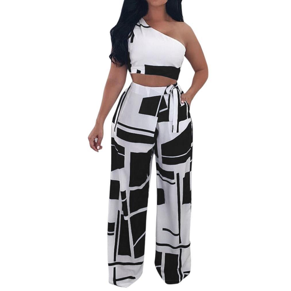 067cc1ea Amazon.com: Nikuya Women Nightclub Fashion Clothes Club Sexy Strapless  Bandage Two Piece Set: Clothing