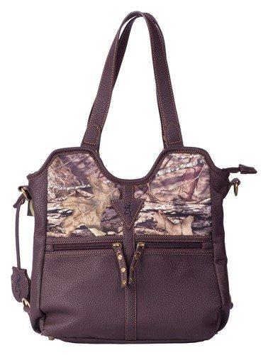 Browning Conceal and Carry Handbag – Medium, Brown/Country Camo