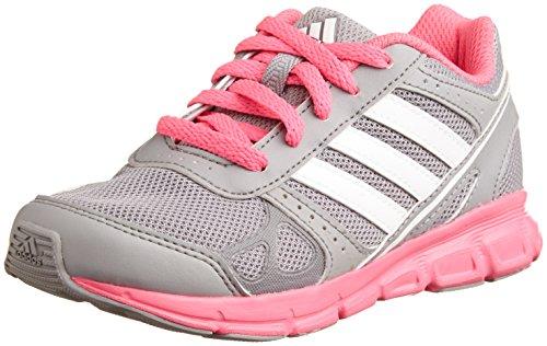 Adidas HyperFast K Schuhe aluminium-running white-neon pink - 40