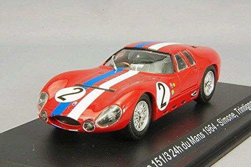 1/43 マセラッティ ティーポ 151/3 Maserati France 1964年ル・マン24時間 A.Simon/M.Trintignant #2 WBS044