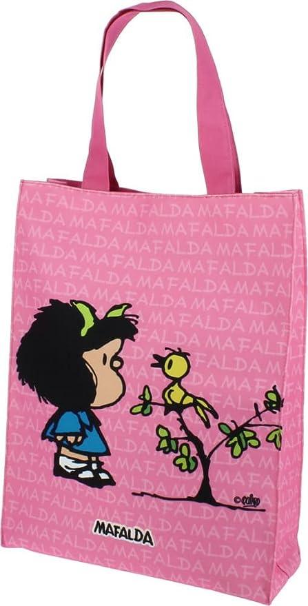 Grafoplás 37620649-Bolsa grande de nailon Diseño Mafalda ...