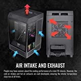 Thermaltake Tower 100 Black Edition Tempered Glass
