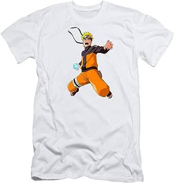 Fruit Of The Loom T-Shirt For Men - M, Naruto Konoha Leaf