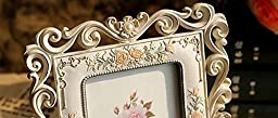 Gift Garden Vintage Picture Frame 4 by 6 Inch for Home Photo 4x6 Wedding Gifts, Valentines Gifts, Fiançailles Gitf