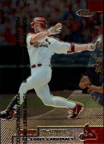 Mark Mcgwire Card - 1999 Finest Baseball Card #70 Mark McGwire Mint