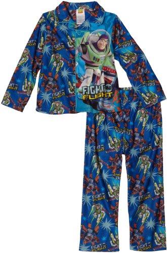 Komar Little Boys' Toy Story Coat Style Pajama