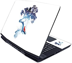 MightySkins Skin for Alienware M17 (2019) - Last Apple Tree | Protective, Durable, and Unique Vinyl Decal wrap Cover | Easy to Apply, Remove, and Change Styles | Made in The USA