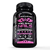 Rockstar Hair, Skin, Nails Growth Pills, 60 Count Review