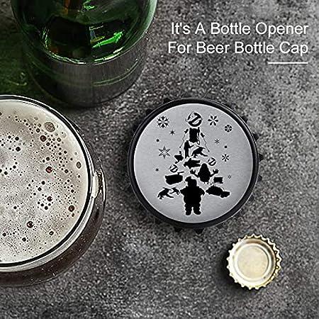Abrebotellas de silueta de Cazafantasmas, imán trasero para nevera, forma creativa de tapa de botella, fácil de abrir el esfuerzo de botella.