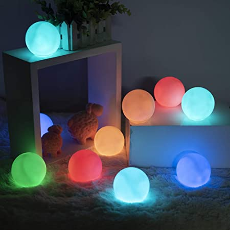 Loftek 10-Pack LED Floating Pool Lights