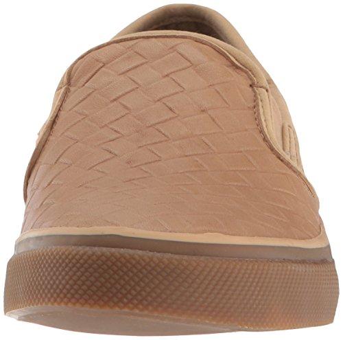 Sider Sperry Women's Seaside Sneaker Top Weave Tan Emboss fqr56fAw