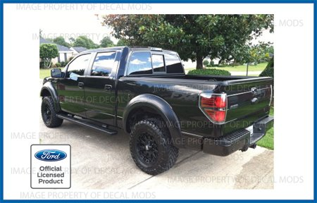 Decal Mods Fx4 Offroad Decals Stickers Red For Ford F150 2012 2013 2014 Cr