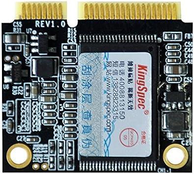 KingSpec MSATA MiniPCIe Half tamaño SSD 128 GB 3 * 2.5 cm para ...
