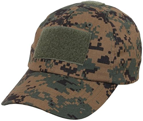 Low Profile Adjustable Tactical Operator Hat W/Flag Or Security Patch