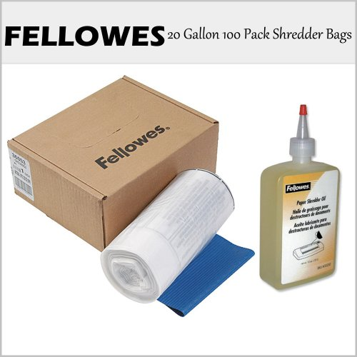FEL36053 - Fellowes Powershred Waste Bags for 99Ms / 90S /