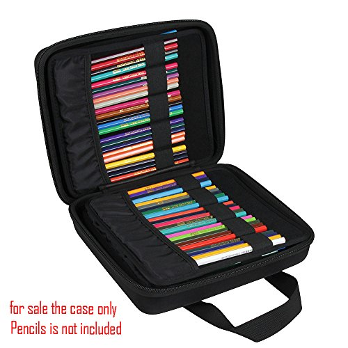 Hermitshell Hard EVA Case Fits Prismacolor Premier Colored Pencils Fits up to 184 Slots by Hermitshell (Image #2)