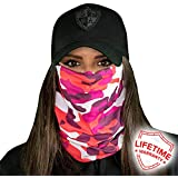 SA Company Face Shield Micro Fiber Protect from wind, dirt and bugs.