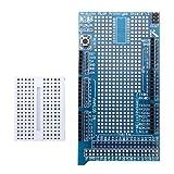 Mega2560 1280 Proto Shield V3 Proto Expansion Board With Breadboard For Arduino.