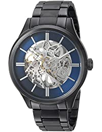 Men's Automatic Stainless Steel Casual Watch, Color:Grey (Model: KC15171001)