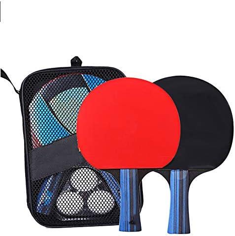 Ping Pong機材持ち帰り、ゲームテーブルトップテニストレーニングどこでも家庭用屋内または屋外ゲームテーブルトップツーポータブル卓球セット