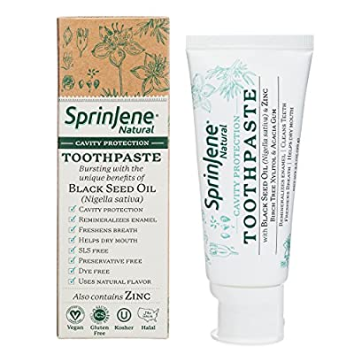 SprinJene White Boost Natural ™ Cavity Protection Toothpaste