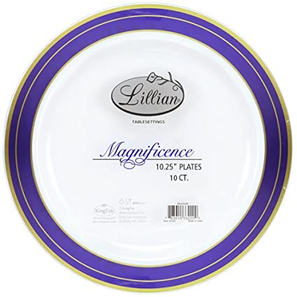Premium Quality Heavyweight Plastic Plates China Like. Wedding and Party Dinnerware Plastic Plates 10.25 inch  sc 1 st  Amazon.com & Amazon.com: Premium Quality Heavyweight Plastic Plates China Like ...
