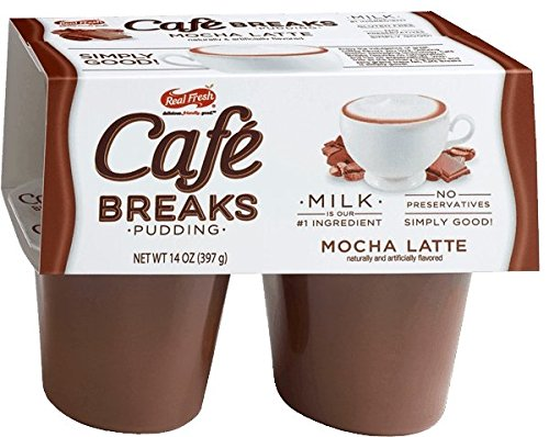 Cafe Breaks Mocha Latte Pudding (Pack of 4)