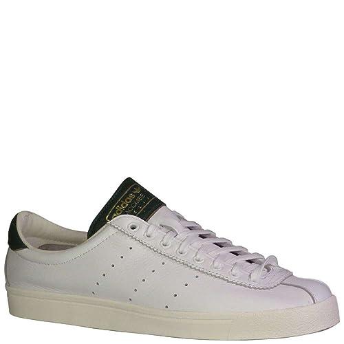 free shipping 86bb5 7a2aa Adidas Lacombe SPZL Mens in WhiteWhiteEasy Green, 10.5