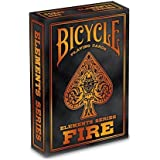 Bicycle Fire Playing Cards Elements Series Poker Deck (Multicolour)