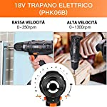 Trapano-Avvitatore-a-Batteria-Tacklife-al-Litio-18v-Set-di-Attrezzi-di-56-Accessori-Set-Porta-Attrezzi-Uso-Domestico-Riparazione-Perfetto-per-Tutti-i-Lavori-di-Fai-da-te-PHK06B