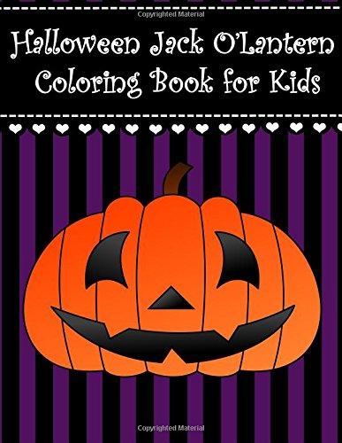 Halloween Jack O'Lantern Coloring Book for Kids: Big