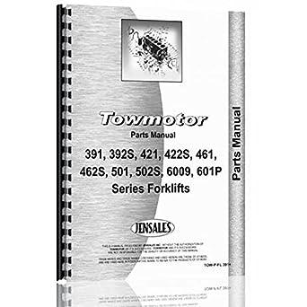 amazon com new towmotor parts manual industrial scientific rh amazon com Towmotor Forklift Models Caterpillar Towmotor Parts