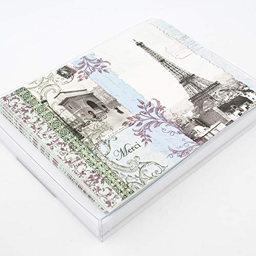 Mudlark Thank You Notes Boxed Set of 12 - La Belle ()